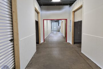 large warehouse for lease being subdivided and renovated